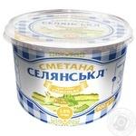 Selianska Sour Cream 15% 200g