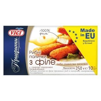 Vici Frozen Fish Sticks Fillet - buy, prices for MegaMarket - image 1