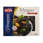 Vici Boiled-frozen Mussels in Shells in Wine Sauce 500g