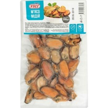 М'ясо мідії Vici варено-морожене 200г - купити, ціни на Ашан - фото 1