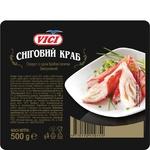 Палочки крабовые VICI Снежный краб замороженные 500г - купить, цены на МегаМаркет - фото 1