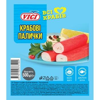 Vici chilled crab sticks 500g - buy, prices for MegaMarket - image 1