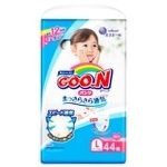 Pants-diapers GOO.N for girls from 9 to14 kgs L-size 44pcs