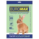 Buromax Pastel A4 80g/m2 Light Green Color Paper 20sheets