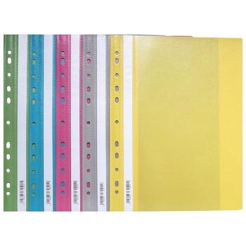 Папка-куток в асортименті 5 кольорів А4 - купити, ціни на Ашан - фото 1