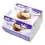 Шоколад молочный Milka в форме шара с кремово-молочной начинкой 112г