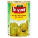 Оливки Fruyper зелены без косточки 300мл