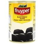 Оливки Fruyper черные с косточкой 300мл