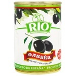 Rio Black Olives with Pits 300g
