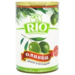 Rio Green Olives with Pits 300g
