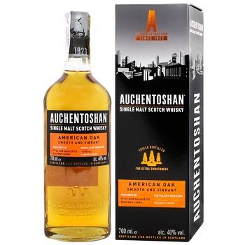 Auchentoshan American Oak 8yrs whisky 40% 0,7l - buy, prices for CityMarket - photo 4
