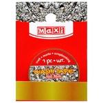 Лента декоративная Maxi неон золотистая 15мм*3м