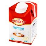 President Ultra-pasteurized Cream 10% 475g