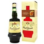 Biter Amaro Montenegro 23% 0,75l + glass