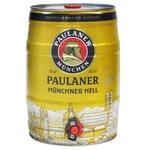 Paulaner Miunchner Hell light beer 5l