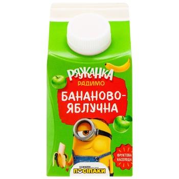 RadyMo Banana-apple Ryazhenka 2,5% 430g - buy, prices for CityMarket - photo 1