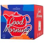 Набор заварник + чашка Limited Edition Good Morning зеленые 420 + 340мл