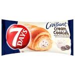 Круассан 7 Days с ванильным кремом и шоколадным печеньем 60г