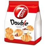 Круассаны 7 days Double мини с двойным кремом какао-ваниль 185г