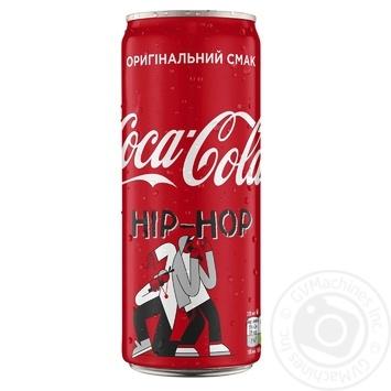 Напиток Coca-Cola сильногазированный ж/б 0,33л - купить, цены на МегаМаркет - фото 2