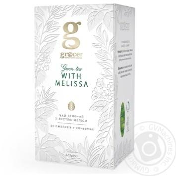 Зеленый чай Грэйс! с листьями мелисы в пакетиках 25х1.5г Англия