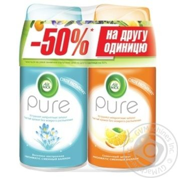 Airwick Spring Mood 250ml + Airwick  Sunny Citrus 250ml Air Freshener - buy, prices for Auchan - photo 1