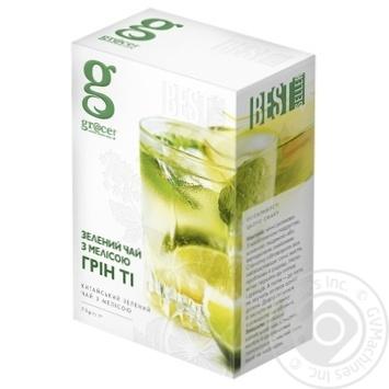Grace! Green Tea with lemon balm 75g - buy, prices for MegaMarket - image 1