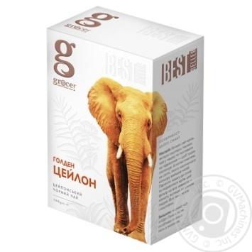 Grace! Golden Ceylon Black leaf tea 100g - buy, prices for MegaMarket - image 1