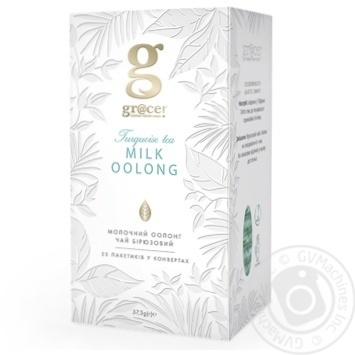 Grace! Milk Oolong Turquoise tea 25*1.5g - buy, prices for Novus - image 1