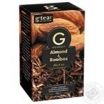 Чай черный G'tea! Gourmet миндаль и ройбуш 20шт*1,75г - купить, цены на Novus - фото 1