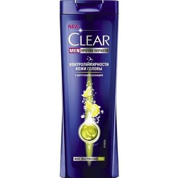 Шампунь Clear для чоловіків контроль жирності шкіри голови 12*225мл - купити, ціни на Novus - фото 1