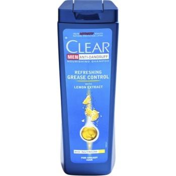 Шампунь Clear Контроль жирности кожи головы против перхоти с лимонным соком для жирных волос 400мл - купить, цены на Ашан - фото 2