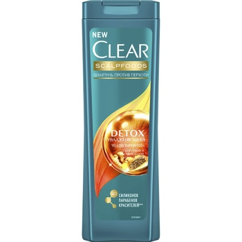 Clear Detox Moisturizing Anti-Dandruff Shampoo 400ml - buy, prices for CityMarket - photo 1