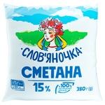 Slovianochka Sour Cream 15% 380g