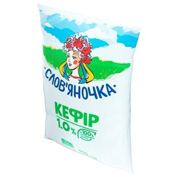 Кефір Слов'яночка 1% 900г - купити, ціни на Ашан - фото 2