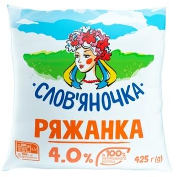 Slovianochka Ryazhanka 4% 425g - buy, prices for CityMarket - photo 1