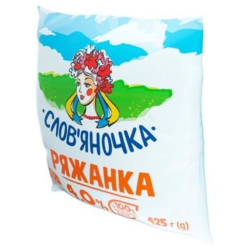 Slovianochka Ryazhanka 4% 425g - buy, prices for CityMarket - photo 2