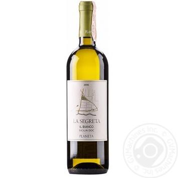 Вино Planeta La Segreta біле сухе 12,5% 0,75л - купити, ціни на CітіМаркет - фото 1