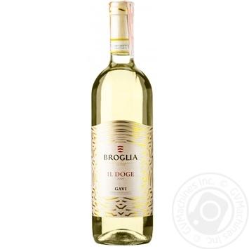 Вино Broglia Gavi белое сухое 0,75л