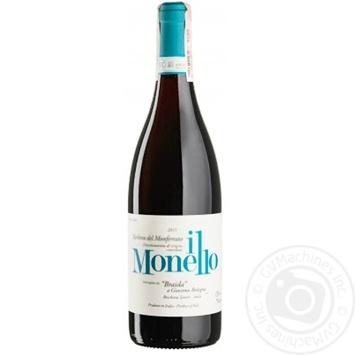 Вино Barbera Del Monferrato II Monello 2015 красное сухое  14% 0.75л
