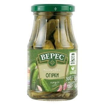 Veres Pickled Cucumbers 300g - buy, prices for Auchan - photo 2