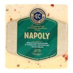 Сыр Клуб сыра Неаполитанский с томатом паприкой и базиликом 50% 160г