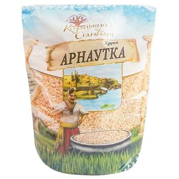 Крупа Казацкий Стандарт Арнаутка пшеничная 900г