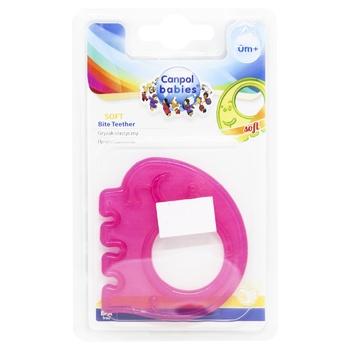 Прорезыватель для зубов Canpol Babies мягкий в ассортименте