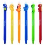 Colorino Dinosaur Automatic Blue Pen assortment
