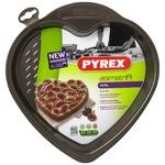 Pyrex Heart Cake Pan Metal Baking Dish 26cm