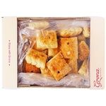 Grona Pads Biscuit with Fruit Jam 600g