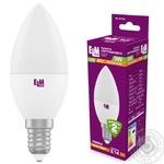 Лампа ELM св/діод. свічка С37 E14 5W 3000K