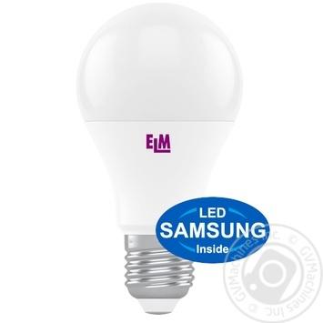 Лампа ELM LED B60 8W PA10s E27 4000к світолодіодна арт.18-0186
