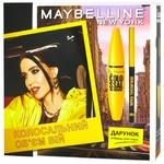 Подарунковий набір Maybelline New York The Colossal 100% Black Туш для вій + олівець для повік